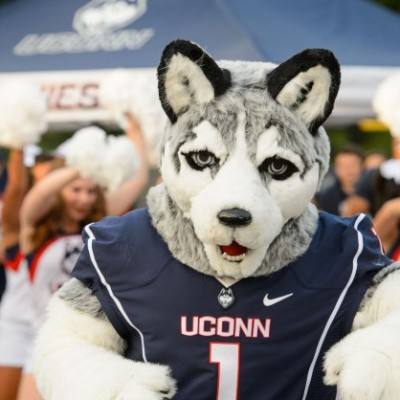 jonathan the husky mascot